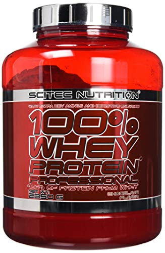 Scitec Nutrition 100% Whey Professional Protein Powder - 2350g, Chocolate