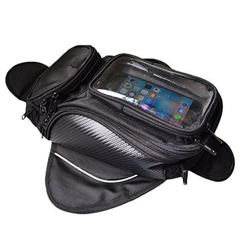 Motorfiets brandstof tank tas Motorfiets tas manege tas magneet tas groot scherm zonder standaard