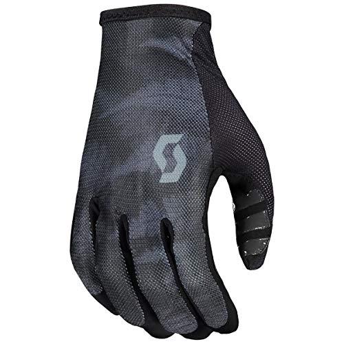 Scott Traction 2021 - Guantes de ciclismo (talla M, 9), color negro y gris