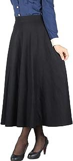 dfb80669a5d518 Gonna Autunno Inverno Donna Gonna Elegante Gonna di Lana Vintage  Abbigliamento Festivo Abbigliamento Festivo Scozzese Gonne