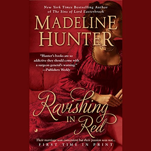 Ravishing in Red audiobook cover art