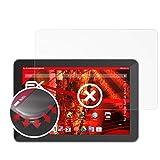 atFolix Schutzfolie kompatibel mit Trekstor SurfTab Xiron 10.1 Folie, entspiegelnde & Flexible FX Bildschirmschutzfolie (2X)