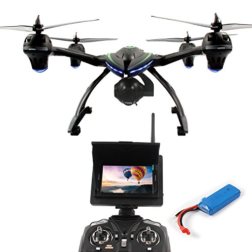 DAZHONG JXD 506 G Quadcopter Drone con 5,8 GHz FPV in Tempo Reale di uebertragungsmonitor One Key Return Senza Testa 2.4 G...