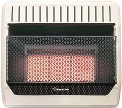 PROCOM HEATING ML250HPG 28,000 BTU Liquid Propane Gas Infrared Wall Heater