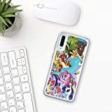 My little pony Samsung Galaxy Case A10 A20 A30 A40 A50 A70 M10 M20 M30 2019 Silicone hard Plastic Cover Clear Transparent pinkie pie characters girls friend game toy cartoon movie