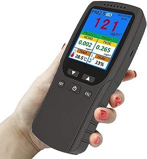 JUZEN Detector de Calidad del Aire multifunción, analizador de la Calidad del Aire para PM2