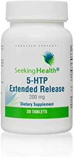 Seeking Health | 5-HTP Extended Release | 5-Hydroxytryptophan Supplement | 200 mg | 30 Vegetarian Tablets