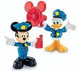 Desconocido Mattel Fisher Price Mickey Mouse Club House - Juego de Figuras (Mickey y Donald Vestidos de policía)