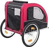 Trixie 12814 Fahrrad-Anhänger, M: 45 × 48 × 74 cm - 3