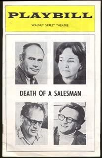 Martin Balsam Teresa Wright Death of a Salesman PLAYBILL 1974
