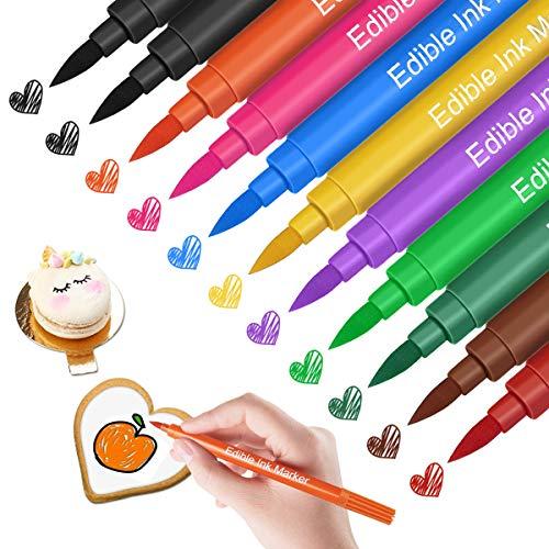 YOU Marcadores de colorantes alimentarios, 11 marcadores alimentarios de Grado alimenticio, utilizados...