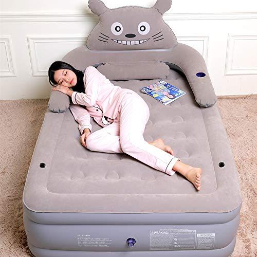 XXXVV Il Mio Vicino Totoro Sacco a Pelo Divano Materasso Topper coprimaterasso alleviare la Pressione Bed Topper Pad con bambù Viscosa Cover - rimuovibile e Lavabile,185 * 120 * 44CM