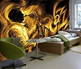 YCRY-壁紙サイズの抽象ゴールデンサ�