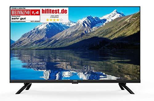 Smart TV32'',LED, CHiQ L32H7N, HDTV, WiFi, Netflix, Youtube, Prime Video, Facebook, Metal Design,...