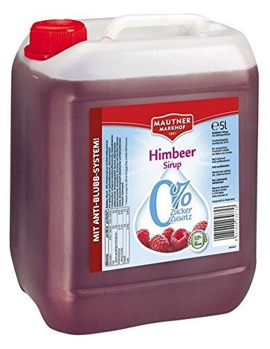 Mautner Markhof Himbeer 0% Zucker Sirup 5l