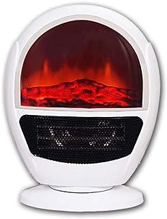 QAZWSX Calefactor Baño,calefactores Electricos,Calefactor De Aire Caliente Ahorrando Espacio Doble Interruptor 3 Direcciones del Viento Ajustables Fácil De Llevar Apto para Hogar Y Oficina