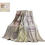 mallcentral-EU Cotizaciones, Mantas Suaves Embarazo Disfrute de Cada Momento Clipart Mujer Embarazada Vestido Sombrero