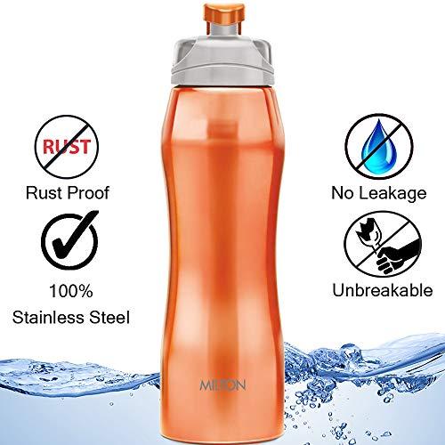 Milton Hawk 750 Stainless Steel Bottle, 750 ml, Orange