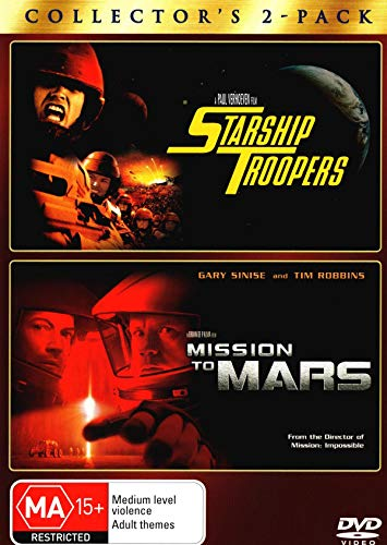 Starship Troopers / Mission to Mars | NON-USA Format | PAL | Region 4 Import - Australia