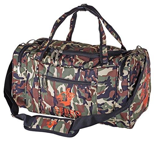 SEBRO SPORTS Hochwertige Sporttasche mit Seitenfächern und Tragegurt für Fitness und Sport