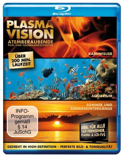 Plasma Vision - Atemberaubende Film- und Soundlandschaften - Sonnenuntergänge/Aquarium/Kaminfeuer [Blu-ray]
