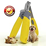 Professional Dog Nail Clippers,Vet Approved,Razor Sharp Stainless Steel Blades With Safety Guard,Ergonomic Designed Handles For Easy Precise Cutting,Groom Small,Medium Or Large Dogs And Cats