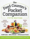 The Food Counter's Pocket Companion, Fifth Edition: Calories, Carbohydrates, Protein, Fat, Fiber, Sodium, Iron, Calcium, Vitamin D, and More