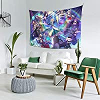 ture Landscape Fate Grand Order 5 Multifunctiol Tapestry Interior Wall Hanging Fashion Home Decor Tapestry Cover Curtain Wall Art Fabric Poster Curtain Customizable