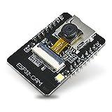 DiyStudio ESP32-CAM WiFi Bluetoothデュアルモード開発ボードESP32カメラモジュール WiFi Bluetoothモジュール、Arduino用ESP32小型OV2640 2MPカメラ + 4M PSRAMデュアルコア32ビットCPU、WLANカード開発ボードネットワークコントローラーを構築し スマートデバイスのネットワーク機能を追加し ワイヤレスモニタリング QR無線識別の最小システム(オンボードアンテナ)