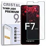 Protector de Pantalla para OPPO F7 / OPPO R13 / OPPO R15, Cristal Vidrio Templado Premium