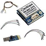 Beitian BN-880 GPS Módulo con Flash HMC5883 Brújula + Antena GPS Activa + CP2102 USB a TTL para Control de Vuelo Arduino Raspberry Pi DIYmalls