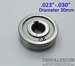 CHNsalescom 0.6-0.8 V-Groove Mig Welder Wire Feed Drive Roller Roll Parts .023