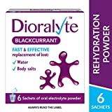 Dioralyte Supplement Replacement of Lost Body Water & Salts Sachets Blackcurrant Flavour, 6 Sachets