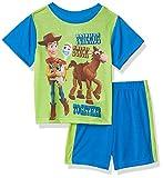 Toy Story Boys 2-Piece Pajama Set, Toy Trio, 4T