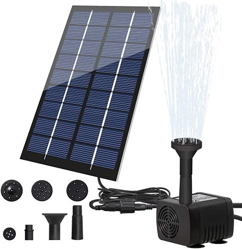LEDGLE ソーラーミニ噴水 1.8W ソーラー池ポン...