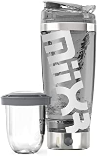MiiXR Pro Rechargeable Shaker Bottle - Portable Electric Vortex Mixer, 20 0z, 100% BPA Free. Includes Built-in Protein Sto...
