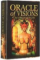Oracle of Visionsフル英語52枚のカードデッキタロットの区分運命の委員会ゲーム