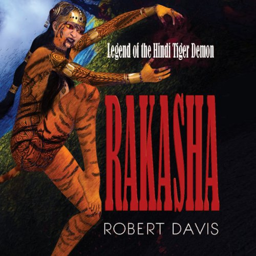 Rakasha audiobook cover art