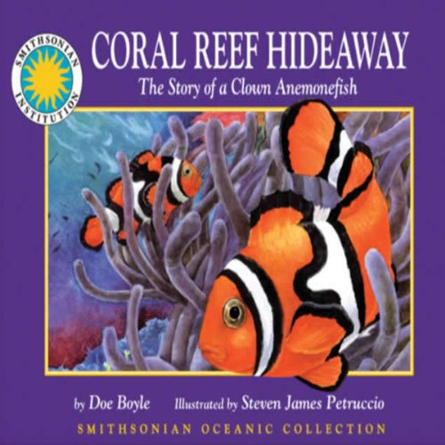 Coral Reef Hideaway: The Story of a Clown Anemonefish audiobook cover art