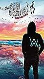 by burning desire Póster de Alan Walker, Alan Olav Walke, DJ Walkzz, un productor de Discos noruegos y DJ, desteñido, Lado Oscuro de 30,5 x 45,7 cm