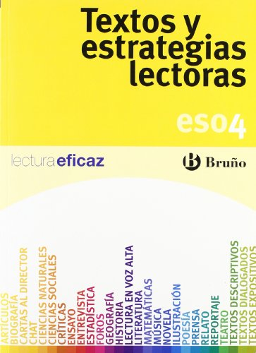 Textos y estrategias lectoras 4 ESO (Castellano - Material Complementario - Textos Y Estrategias Lectoras) - 9788421660287