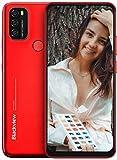 Moviles Libres, Blackview A70 Smartphone 4G de Pantalla 6.5' Water-Drop Screen, Teléfono 3GB + 32GB (SD 128GB), 13MP + 5MP, Batería 5380mAh Teléfono Móvil, Android 11, Face ID/GPS-Rojo