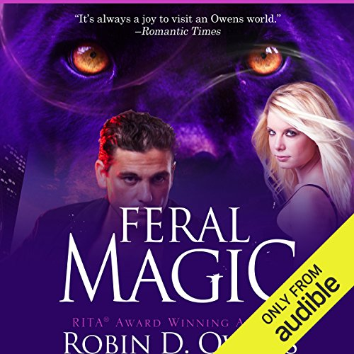 Feral Magic audiobook cover art