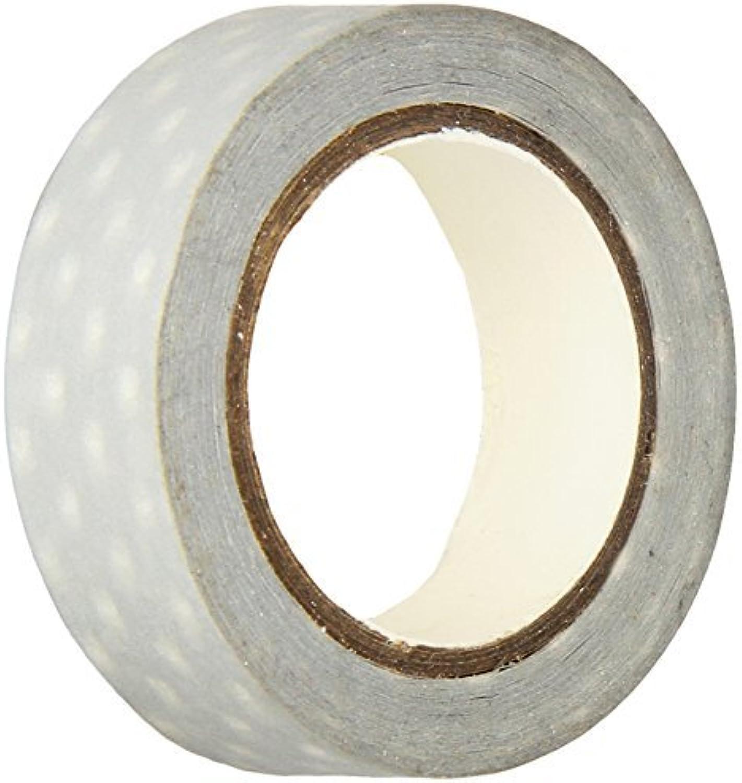 Doodlebug 15 mm Swiss Swiss Swiss Dot Washi Tape, grau by Doodlebug B01N048CJZ | Hat einen langen Ruf  627557