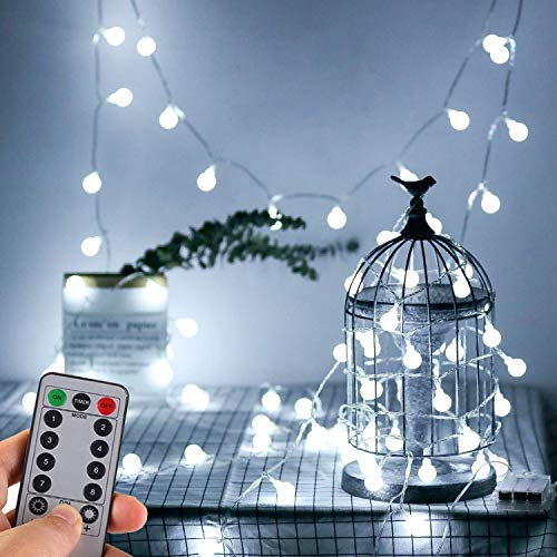 Globe String Battery Outdoor Fairy Lights
