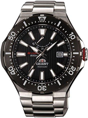 Orient M-Force Delta Automatic Scuba Black Dive Watch with Power Reserve Meter EL07002B