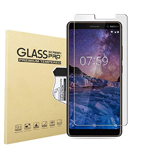 Preisvergleich Produktbild RUIST Nokia 7 Plus Schutzfolie, Nokia 7 Plus Schutzglas, Ultra Dünn Panzerglas Panzerschutz Folie Glas Folie [9H] Panzerfolie Glasfolie Displayschutz Folie für Nokia 7 Plus