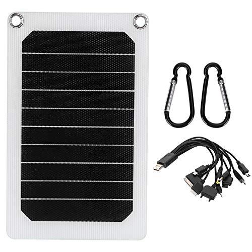 Kit De Panel Solar Plegable Portátil De 10 W 6 V, Cargador...