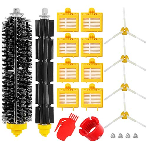 Kit de Accesorios para iRobot Roomba 700 Series, Recambios Repuestos para 700 720 750 760 765 770 772 772e 774 775 776 776p 780 782 782e 785 786 786p 790.