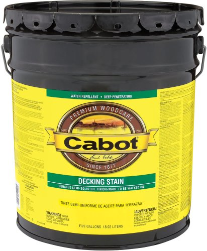 Valspar 140.0001406.008 Cabot Semi-Solid Oil-Based Deck And Siding Stain
